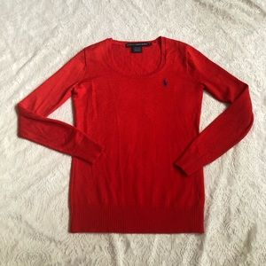 Ralph Lauren Sport 100% merino wool sweater